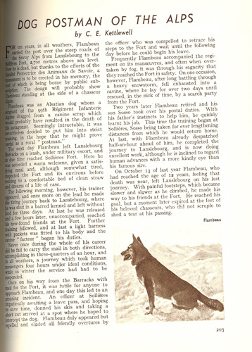 A page from the May 1939 issue of the Post Office Magazine.