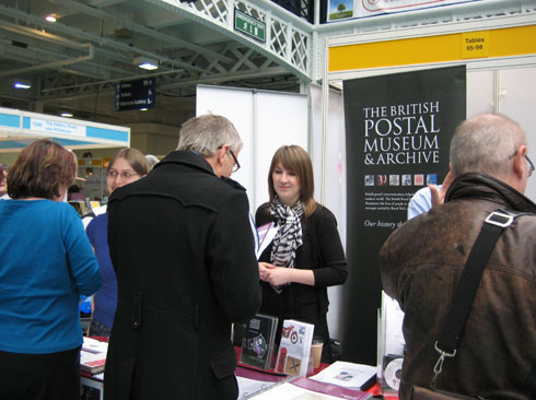 Last year's BPMA stall at Who Do You Think You Are? Live.