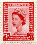 Isle of Man 2.5d stamp