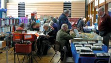 Visitors and traders at Westbex 2009