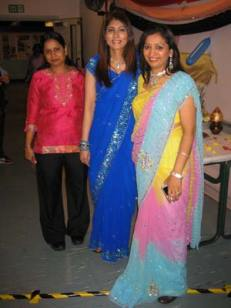 Members of the Mount Pleasant Hindu Association celebrate Diwali
