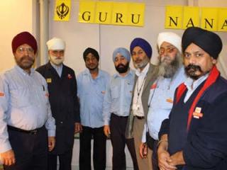 Guru Nanaks Birthday at Mount Pleasant Mail Centre