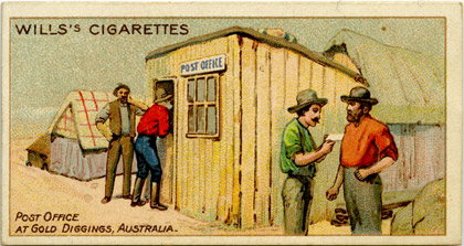 Post Office at Gold Diggings, Australia