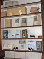 Goods for sale in the stationers