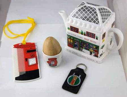 A group of novelty items in the Wilkinson Collection