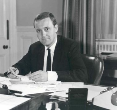 Tony Benn as Postmaster General