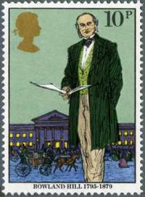 Death Centenary of Rowland Hill stamp, 1979
