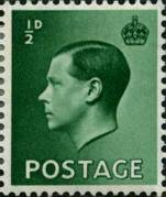 One of the King Edward VIII definitives issued in 1936