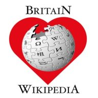 Britain Loves Wikipedia logo