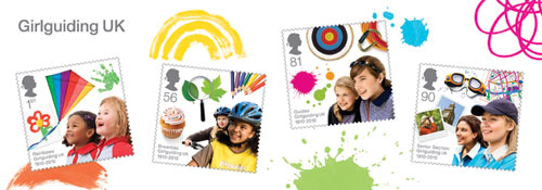 Girlguiding miniature sheet, 2010