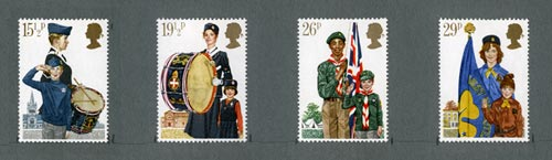 Youth Organisations Commemoratives, 1982
