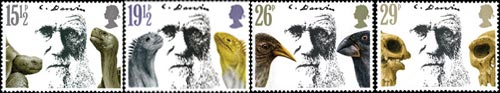 Death Centenary of Charles Darwin stamp issue, 1982