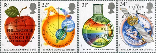 300th Anniversary of Isaac Newton's Principa Mathematica, 1987