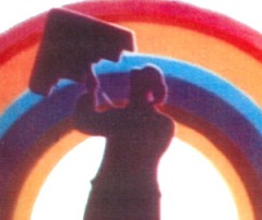 A still from the GPO Film Unit film Rainbow Dance