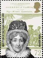 Hannah More stamp from Aboltion of the Slave Trade issue (2007)