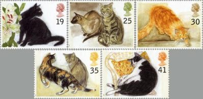 The Cats stamp issue, 1995