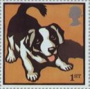 Border Collie stamp from Farm Animals issue, 2005