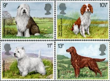 Dogs stamp issue, 1979
