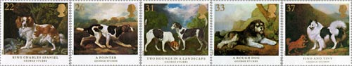 Dogs stamp issue, 1991