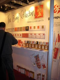 Gift Republic's Machin merchandise on display at the Spring Fair