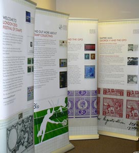 The BPMA's travelling exhibition for regional stamps shows