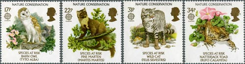 Nature Conservation stamps, 1986