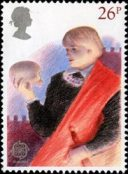 British Theatre stamp depicting Hamlet, 1982