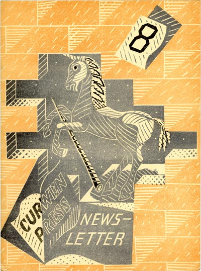 Magazine cover by Edward Bawden