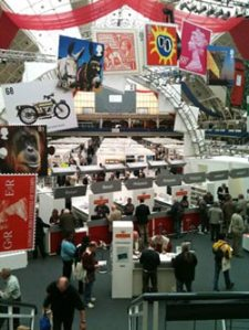 Royal Mail's stand at the London 2010: International Stamp Exhibition