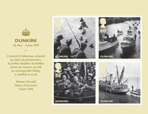 Dunkirk miniature sheet, 2010