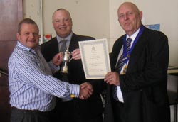 Clive Jones, who won the Postal History class with 'Halifax Postal History'