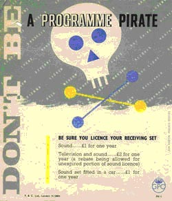 Don't be a programme pirate
