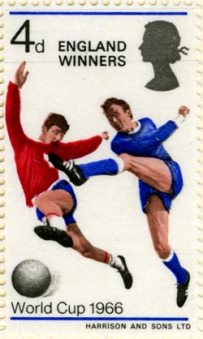 1966 England Winners stamp