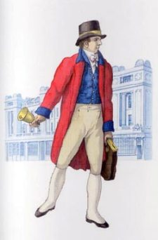 London letter carrier's uniform c.1818 (2004-0199).
