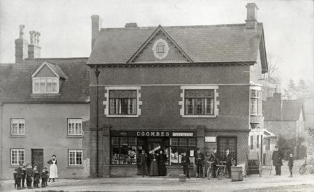 Shipton-under-Wychwood Post Office, Oxfordshire c.1900