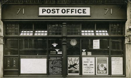 The branch office at Southampton Row, Bloomsbury, London, c. late 1920s.