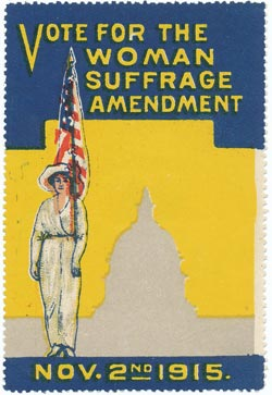 "A ""Cinderella"" published for the 1915 woman's suffrage amendment campaign in Washington"