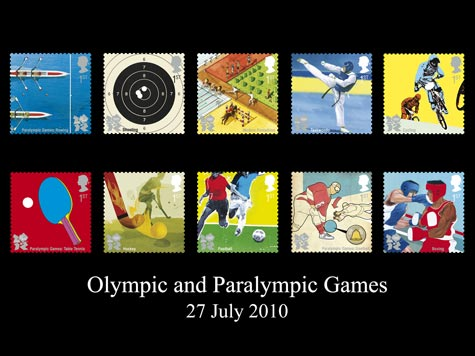 London 2012 Olympics stamps - set 2 (2010)