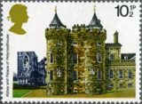 Holyroodhouse stamp from British Architecture issue, 1978