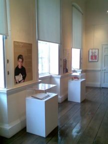 The exhibition space at Bruce Castle