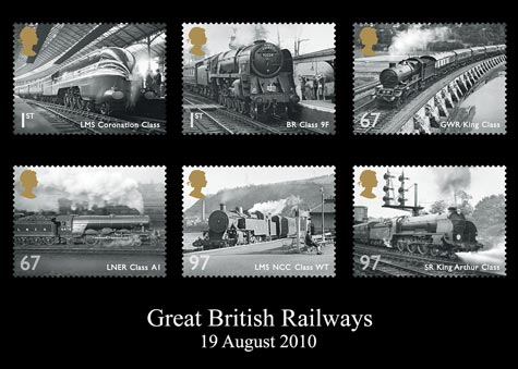 Great British Railways stamp issue