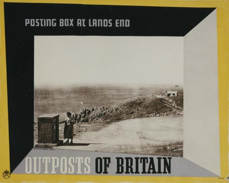 Outposts of Britain - Posting box at Lands End