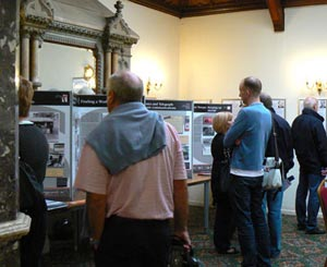 Visitors enjoying the BPMA display
