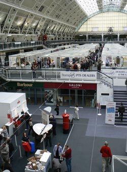 Stampex at the Business Design Centre