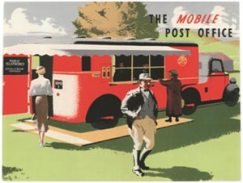 GPO publicity for the 1930s Mobile Post Office
