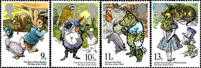 Year of the Child stamp issue, 1979