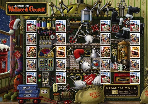 Wallace and Gromit generic sheet