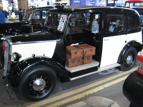Also in the parade were a number of black cabs from different eras.