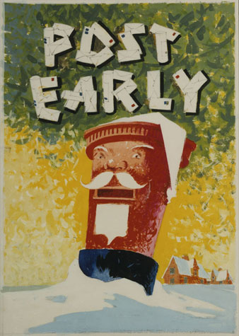 Post early (c. 1950)