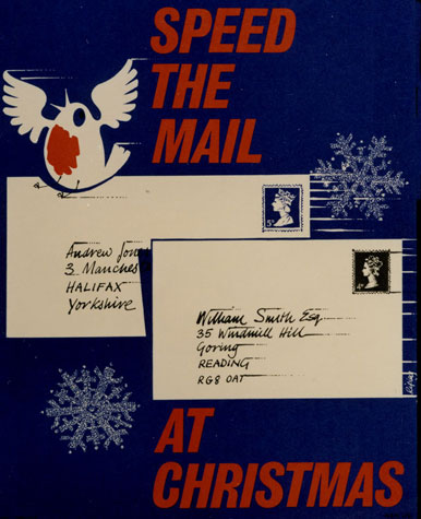 Speed the mail at Christmas (December 1968)
